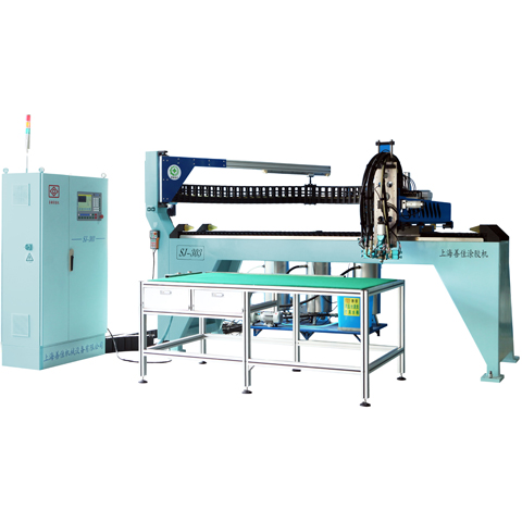 SJ-303SFull Automatic Constant Three Components Glue Dispensing Machine