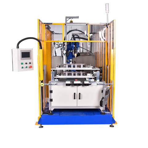 One component silicone foam dispensing machine